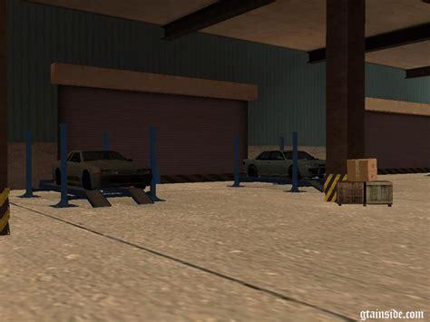 Andrea S Garage by Gta San Andreas Tokyo Drift Han S Garage Mod Gtainside