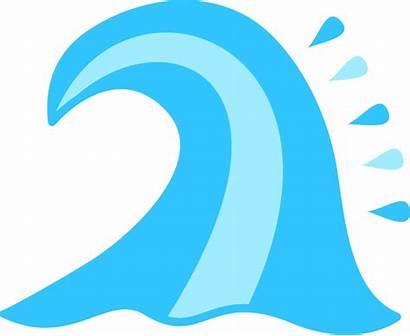 Wave Ocean Clipart Vector Sea Waves Cutie