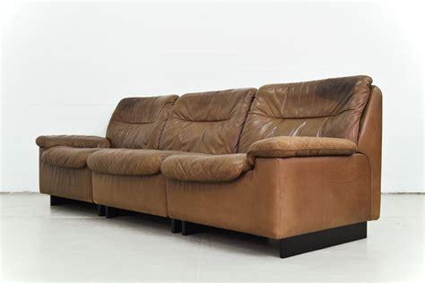 canap de sede de sede canapé trois places en cuir catawiki