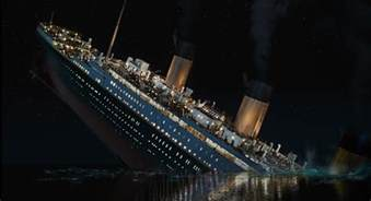 titanic sinking ship scene wallpapers hd desktop and