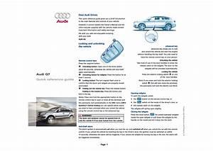 Audi Q7 User Manual