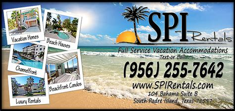 Boat Rentals Spi by Hotels South Padre Island Hotels Condos Houses