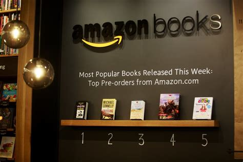 amazon opens   physical book store  seattles