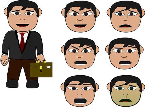 Business Man, Cartoon, Business