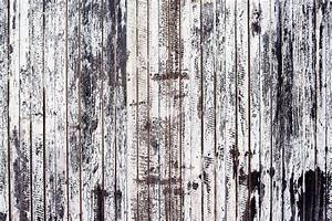 Old, Rustic, Wooden, Plank, Wall, Painted, White, Stock, Image
