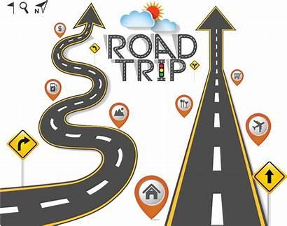 Road Trip Clipart Clip Traffic Vector Travel