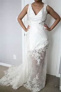 sarah houston demille wedding dress size 6 wedding dress With used wedding dresses houston