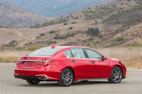 first 2018 acura rlx sport hybrid automobile magazine