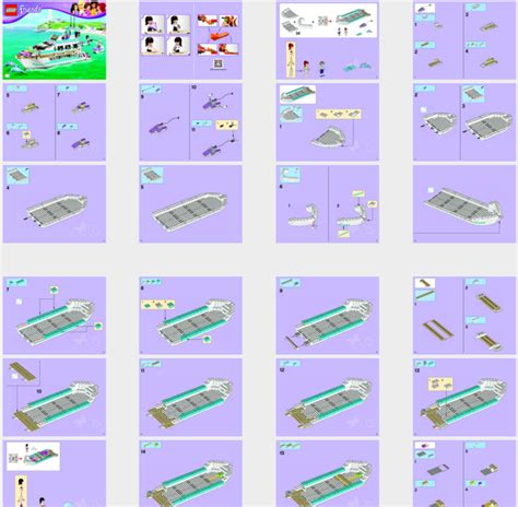 Lego Boat Step By Step by Lego Friends Boat Www Pixshark Images