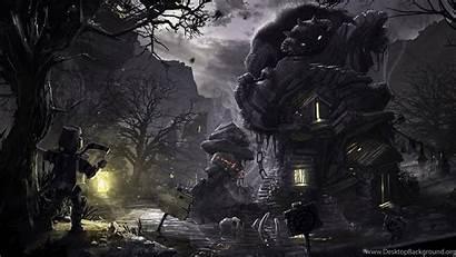 Dark Artwork Hermit Desktop Wallpapers Ptitvinc Background