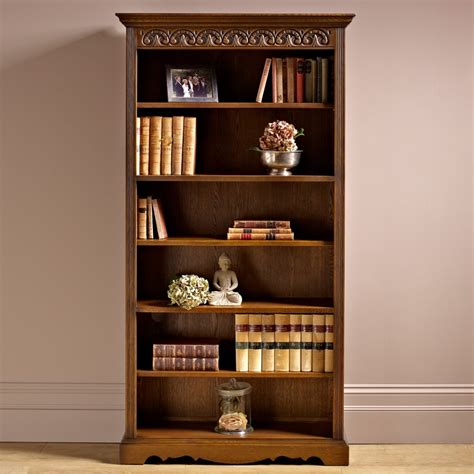 Oc2117 Bookcase  Old Charm Furniture  Wood Bros The