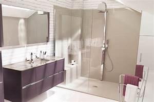 Douche À L Italienne Moderne : la douche l 39 italienne ~ Voncanada.com Idées de Décoration