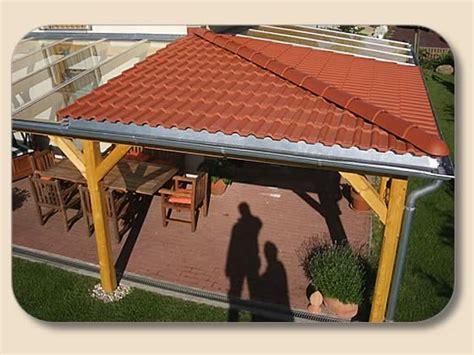 terrassenueberdachung glas holz von holzon kaufen vsg mm