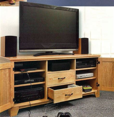 flat panel tv entertainment center plans woodarchivist
