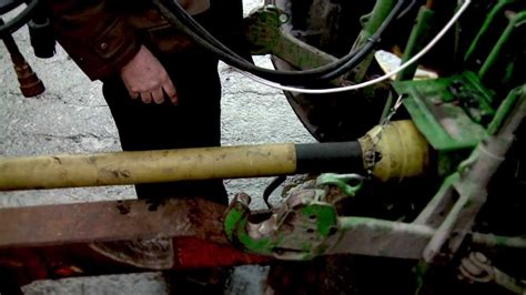 pto shaft accident youtube