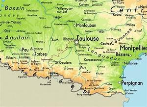 Mapa de Toulouse Viajar a Francia