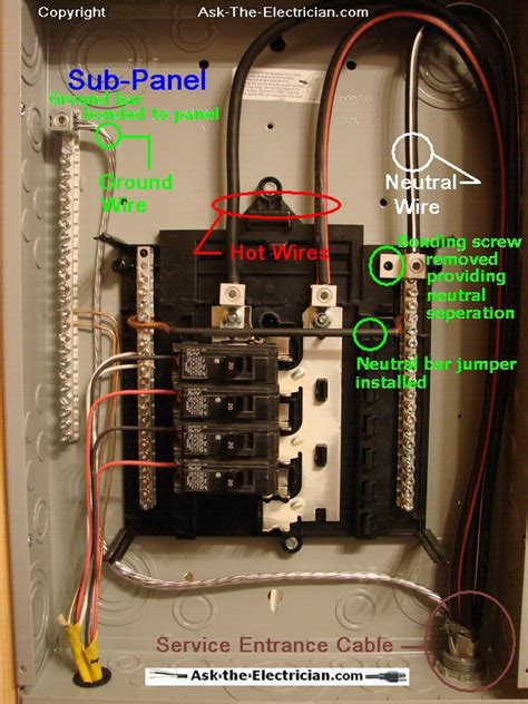 How Install Wire Sub Panel