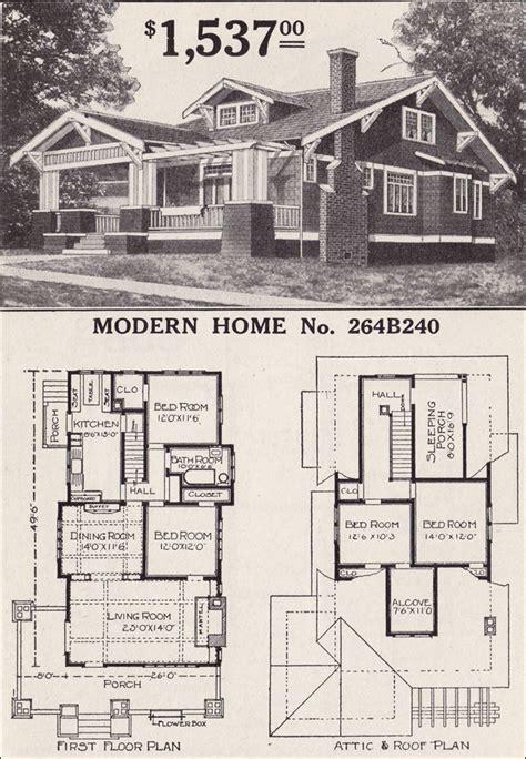 sears craftsman style house modern home   corona  bungalow home plan