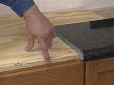 how to install countertops installing a do it yourself granite countertop how tos diy