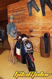 Launching Scoopy Fi  Banyak Model Cantik Di Honda Fashion