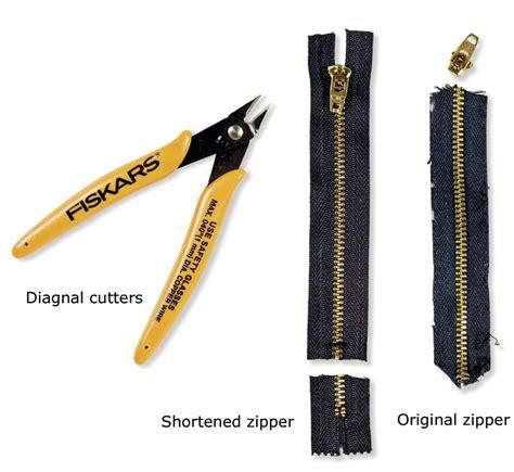 how to fix a zipper how to replace a broken zipper threads