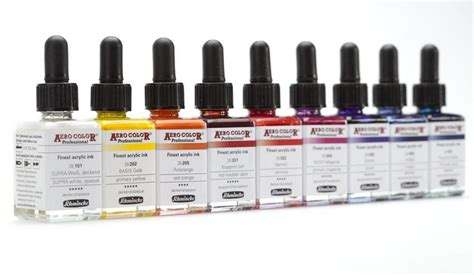aero color schmincke aero color ink 28ml the deckle edge
