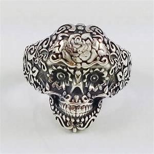 Tete De Mort Mexicaine Femme : bague tete de mort mexicaine ~ Melissatoandfro.com Idées de Décoration