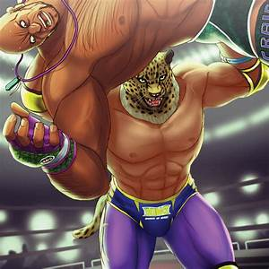 Tekken: King tosses Marduk by rubendevela on DeviantArt