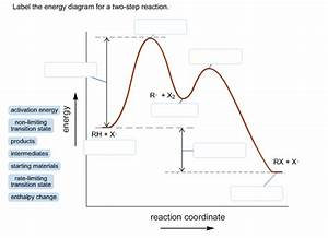 Label The Energy Diagram For A Two-step Reaction