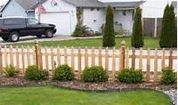 front yard fence ideas Cedar Privacy Front Yard Fencing Designs, easy fence ideas ...