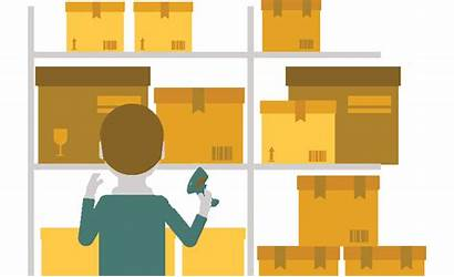 Clipart Warehouse Inventory Picking Barcode Labor Growth