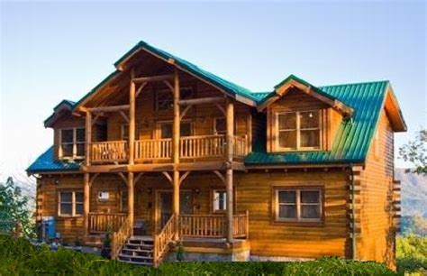Big Cabin 14 Photos And Inspiration Big Cabin Homes House Plans