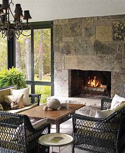 Beautiful, Fireplace, Design, Ideas