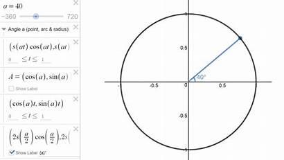 Circle Unit Angles Things Exploring Desmos Cool