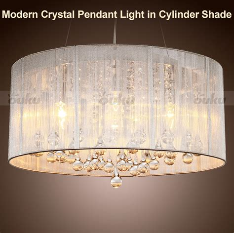 modern pendant light chandelier ceiling drum