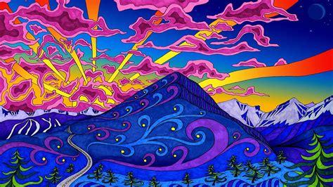 Montagnes Paysages Couleurs D œuvres D Art Psychand 233 Dand 233 Lique