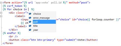 Шаблон вебпроекта Django для Python в Visual Studio