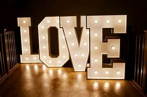 Light up letter for hire marquee lights letter lights for Lit letters