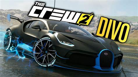 New Bugatti Supercar by The Crew 2 New Bugatti Divo Customization