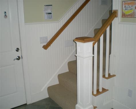 future projects foyer and staircase chair rail