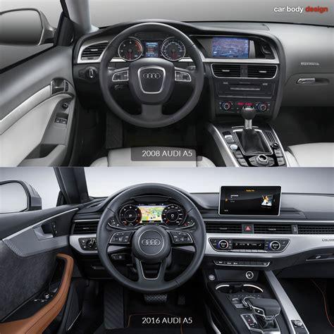 2008 Audi A5 Vs 2018 Audi A5 Interior Design Comparison