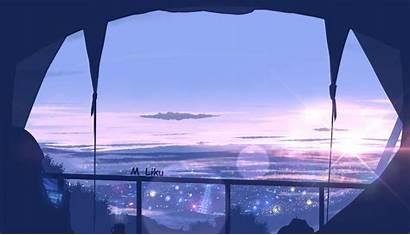 Scenery Anime 4k Window Wallpapers Landscape Laptop