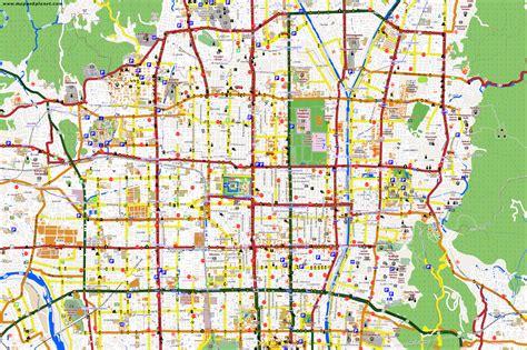 city maps kyoto