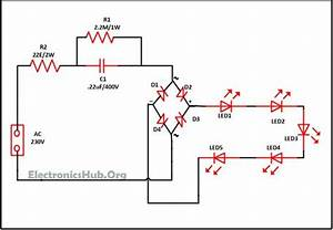 Mains Operated Led Light Circuit