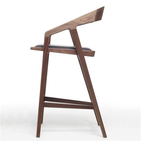 chaise haute de bar avec accoudoir katakana bar stool