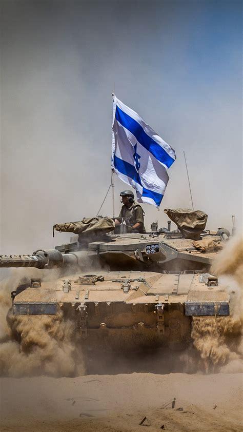 wallpaper merkava mark iv tank flag israel army israel