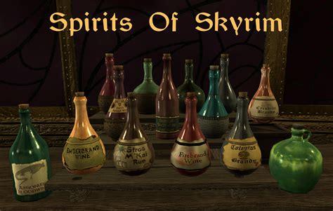 cuisine mod鑞e spirits of skyrim food elder scrolls v skyrim mods curse