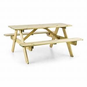 Table De Jardin Enfant : 40 sur blumfeldt table de pique nique avec banc meuble jardin pour enfants bois mobilier ~ Teatrodelosmanantiales.com Idées de Décoration