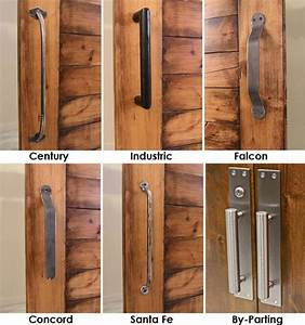is there a locking system for a single barn door