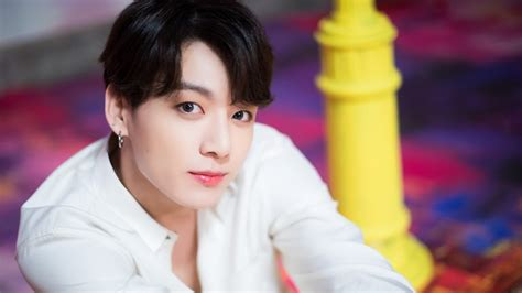 The pc has white specs from manufacturing, which is shown in the photos. Jungkook, BTS, Boy With Luv, 4K, #58 Wallpaper
